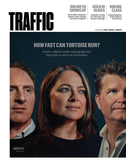 Traffic Magazine cover